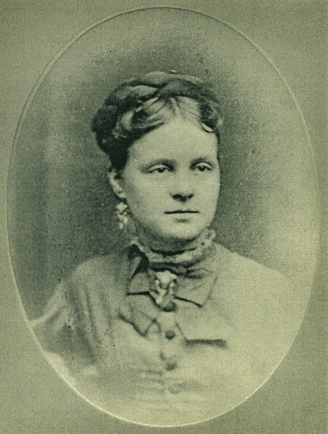 "Bessie Bramley Pearce1856-1882, known as ""The nicest girl in town Bessie died of Malarial fever"