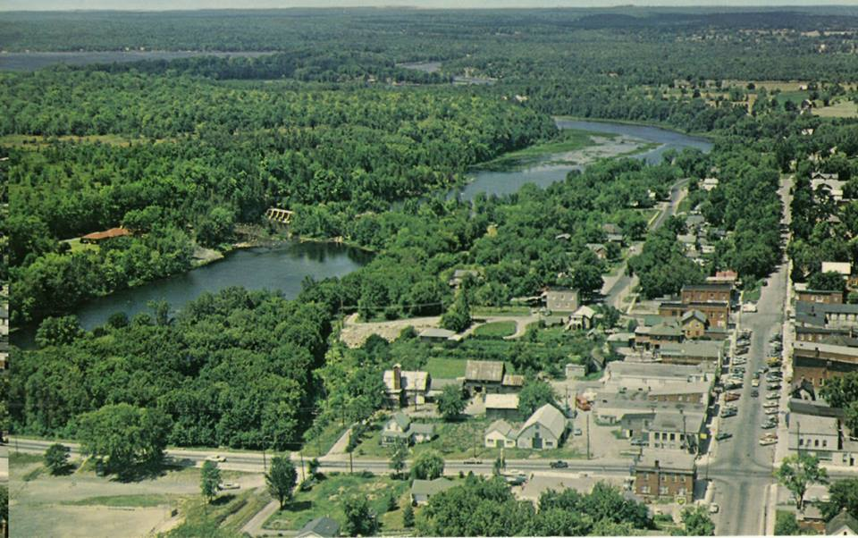 Aerial view of Marmora