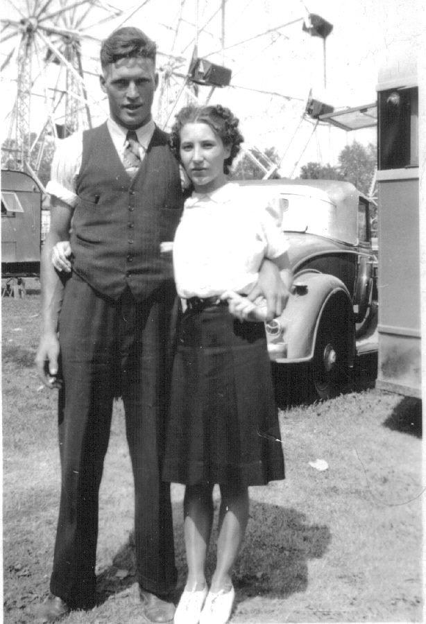 Harry & Edna Barrons  1941