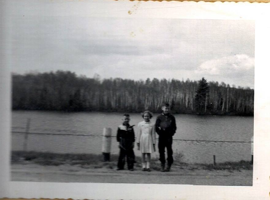 Brian, Sharon & Larry Phillips  1950's