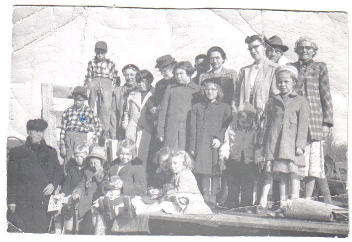 The Spry Settlement Sunday School circa 1960.