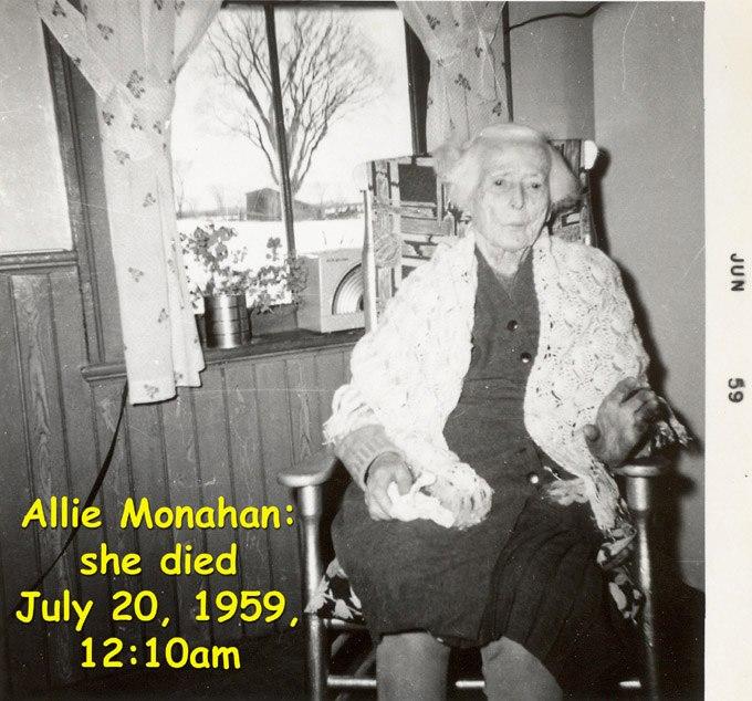 Allie Monahan, 1959