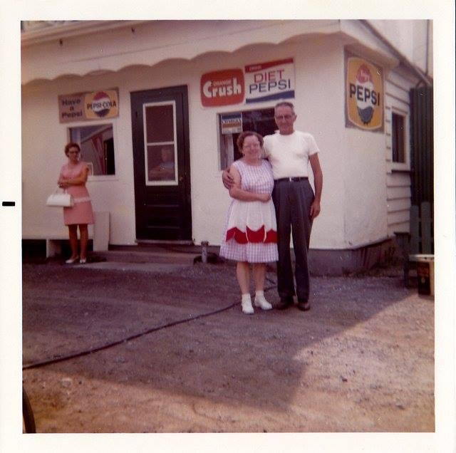 Rosalie and Elgin Ellis  1972