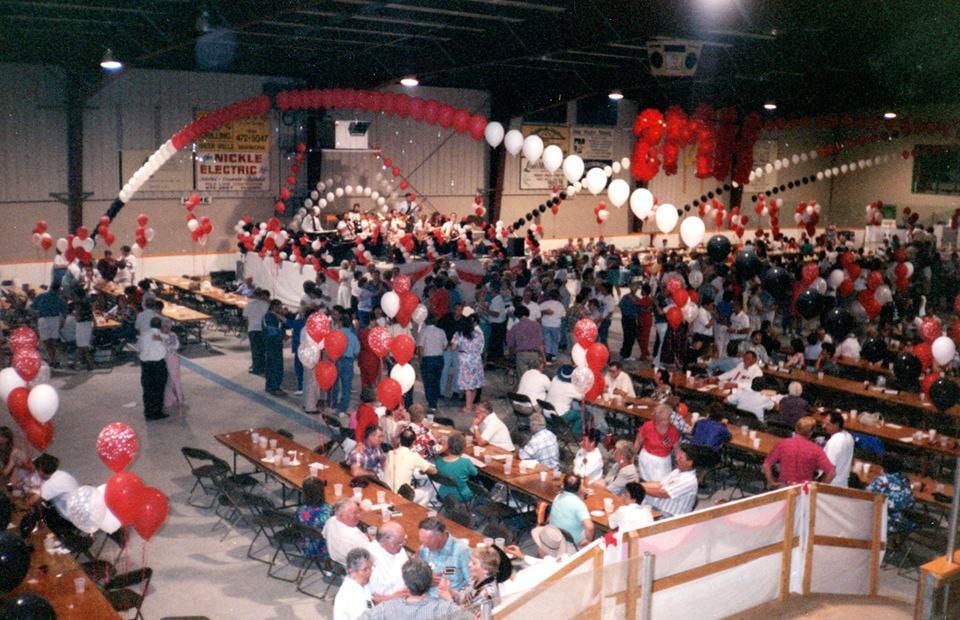 1993 at Marmora High School Reunion