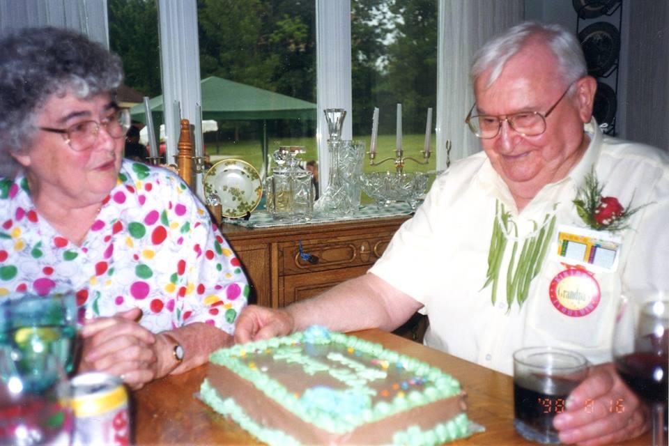 August, 1998 - Lillian & Breen O'Connor