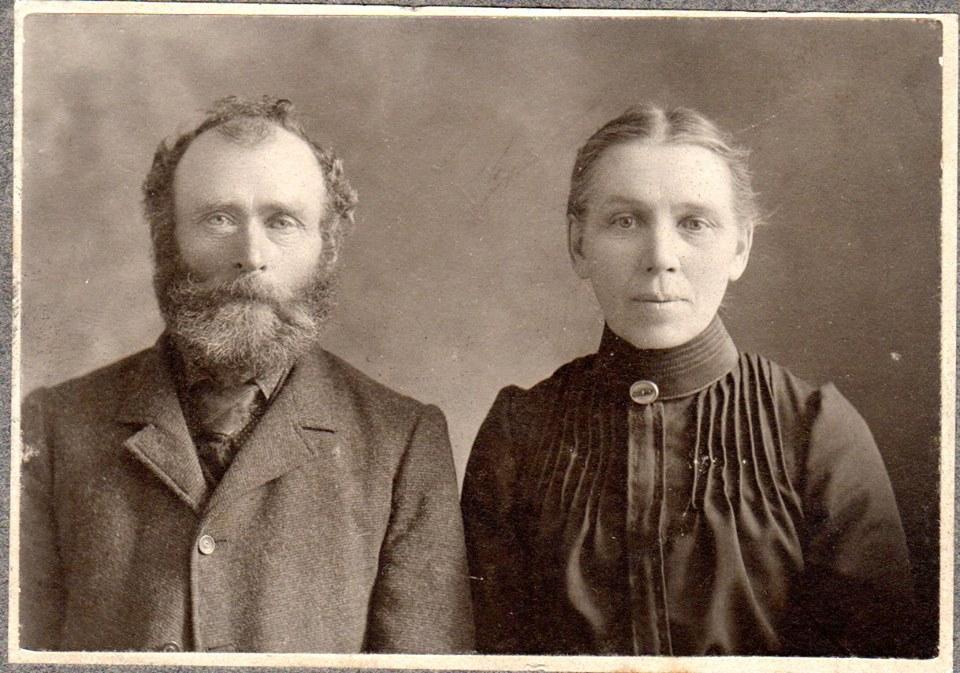 Connors - Pat & Bridget (Griffin)Great maternal grandparents of Maloneys, McKinnons,