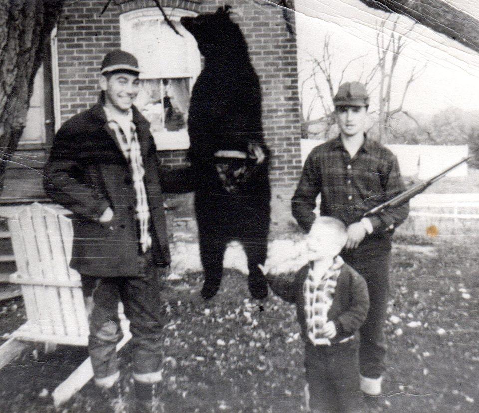 In 1960s - Terry Clemens, Dan Terrion, Tim Loveless (in front)