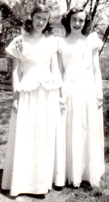 Joan Belanger and Wilma McKinnon