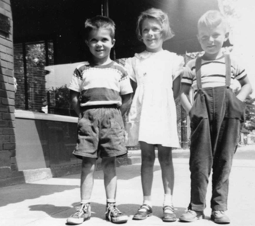 Ron & Sandra Gray with Tom O'Neill in 1953 -