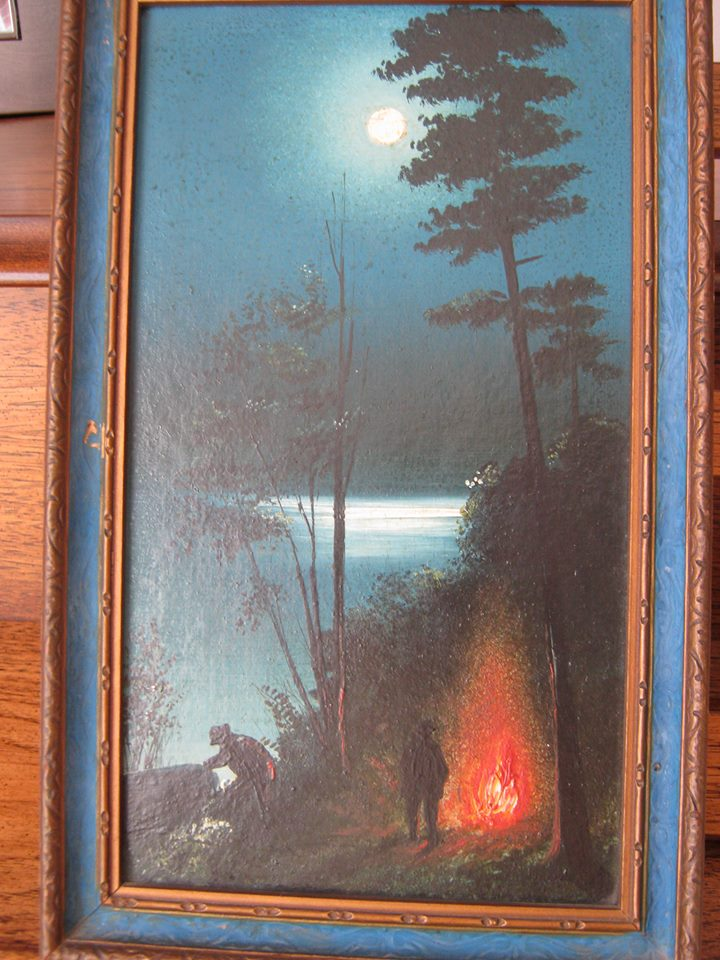 William Archer painting