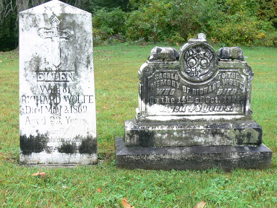 Wolfe, Richard and wife