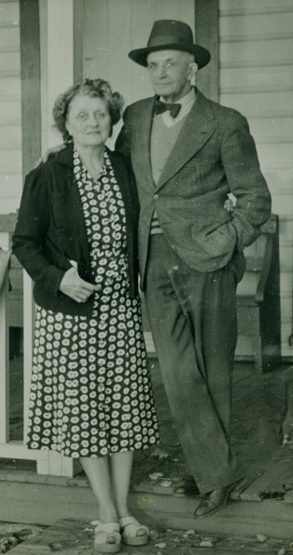 Ed and Bea Gladney,  1954