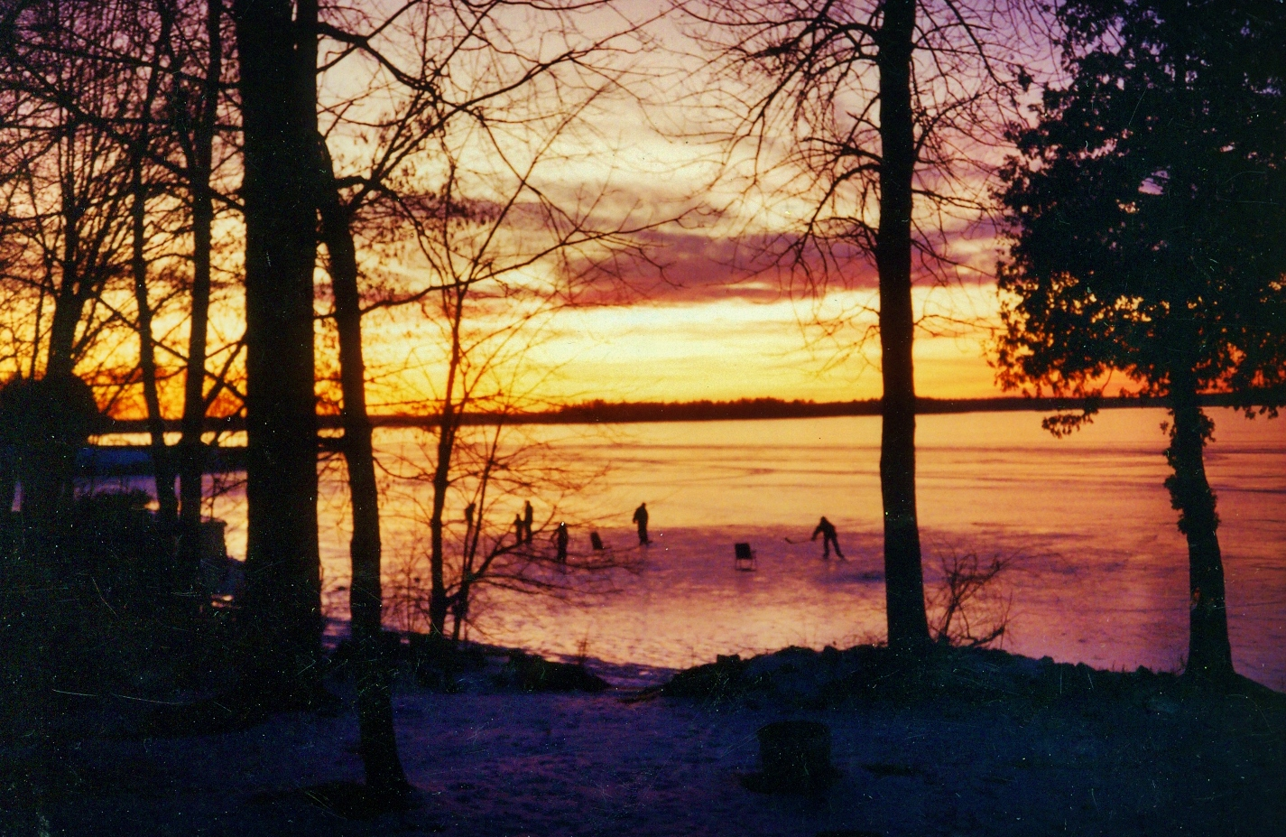 1994, Skating,  Crowe Lake,  Christmas.jpg