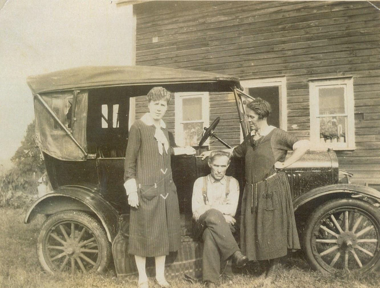 Shanick 1926, teacher Miss Fry, Minnie Revoy, Ben Revoy