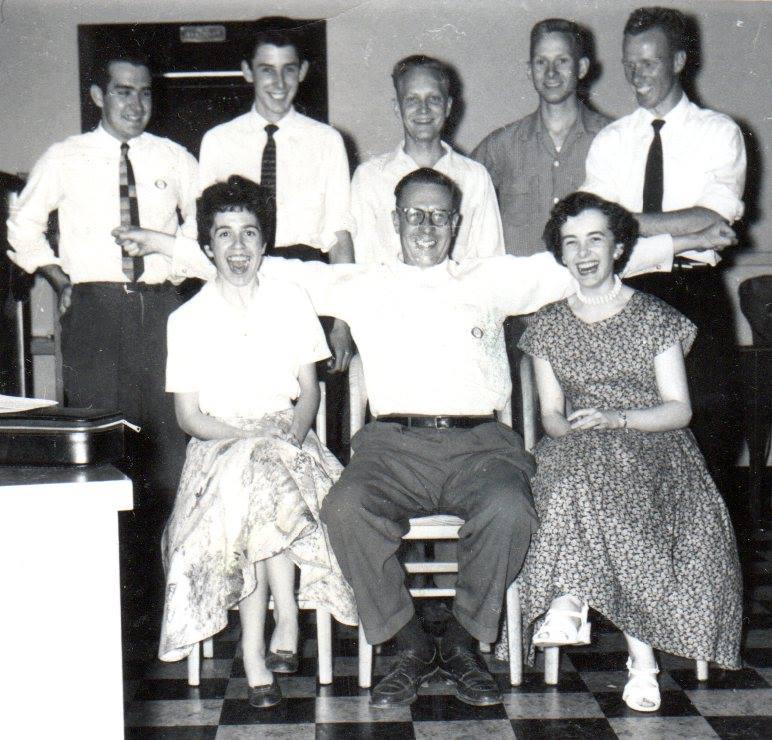 TD Bank Staff  July 1956