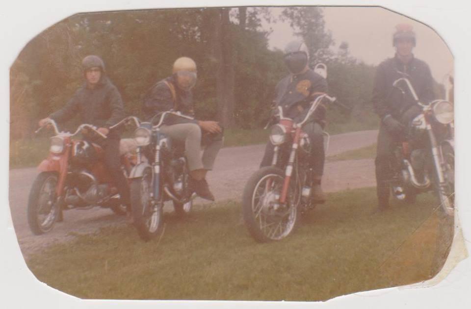 Jim Spry , Terry Neal, Jim Wilkes & PJ Goody.