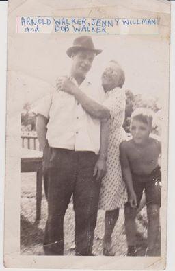 Arnold Walker, Jenny Walker & Dale Walker.