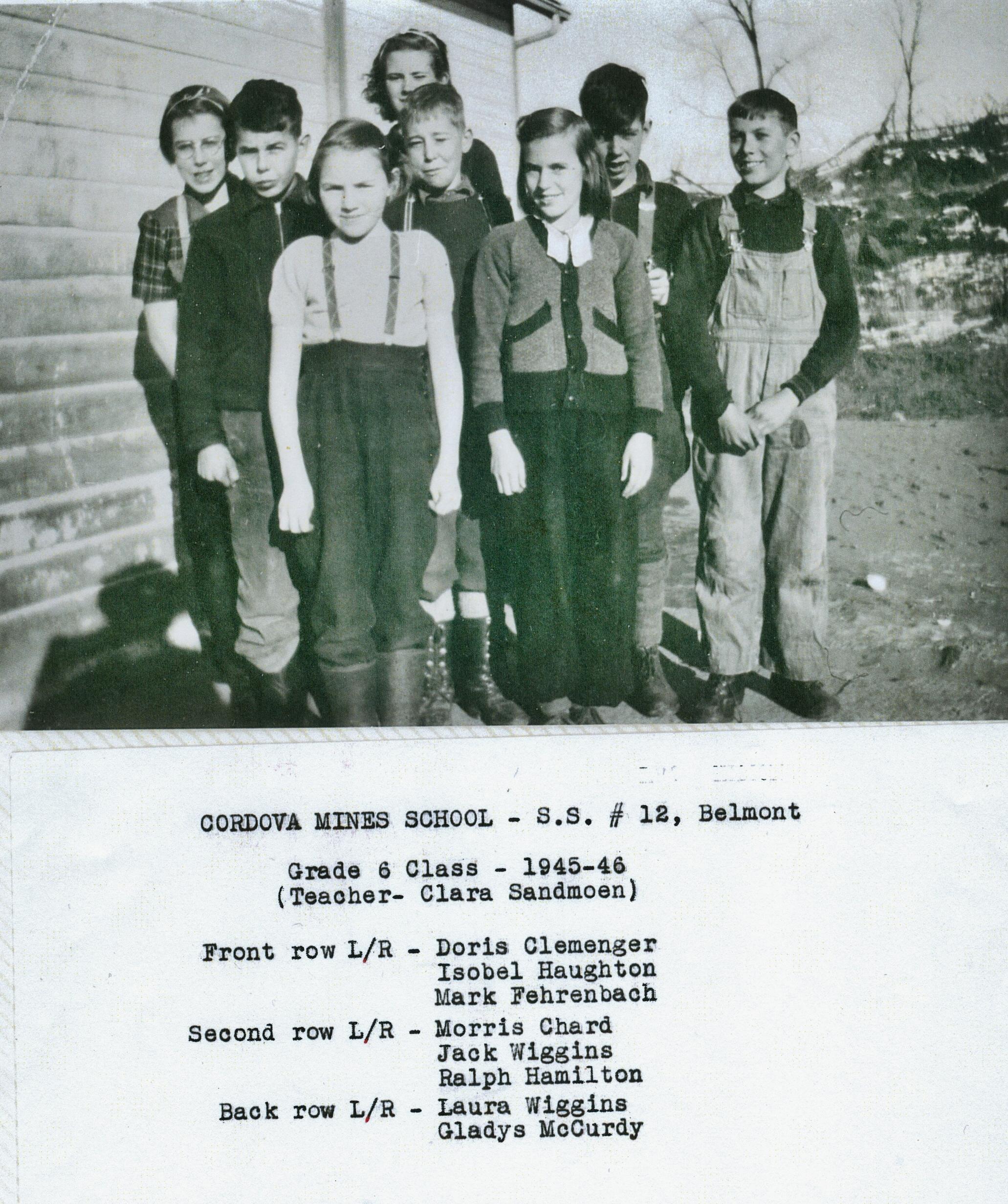 S.S. #12 Cordova Mines School 1945-46.jpg