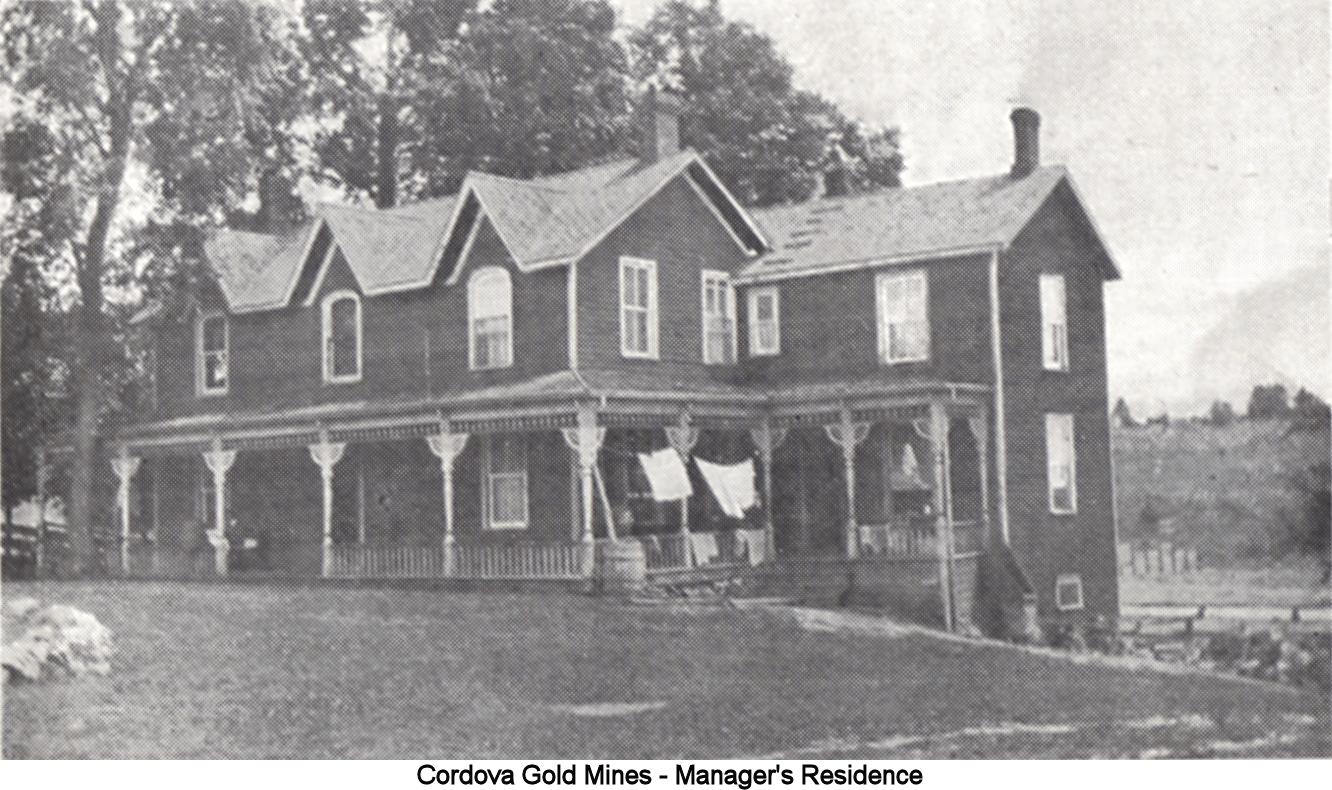 Mr. Kerr's residence was steadily improved, containing a natural water supply from the tanks above, lighting by electricity, and ornamental trees