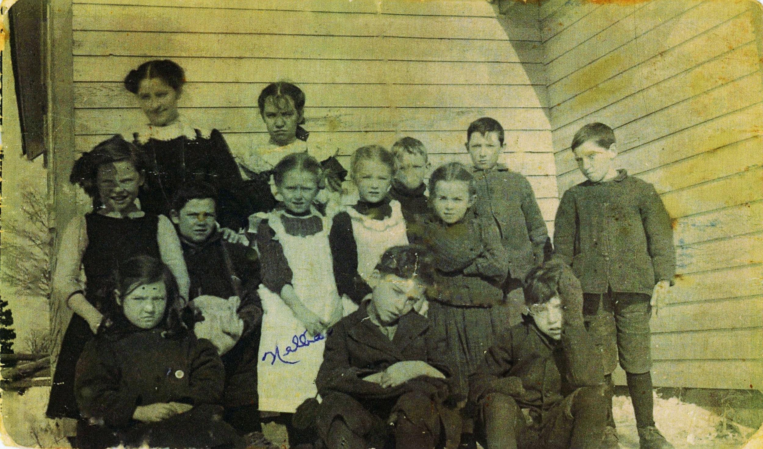 School Section #6 Malone circa 1910