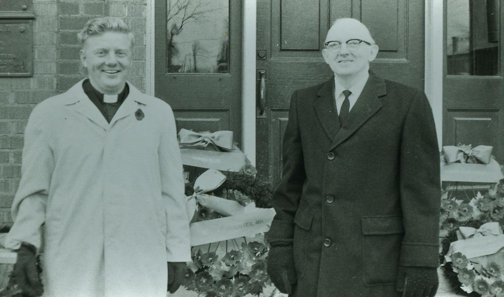1969---Rev.-John-Lombard,--Anglican, Rev.-Gerald-Kemp,--Free-Methodist, Rev. Kemp pastored in Oshawa before coming to Marmora