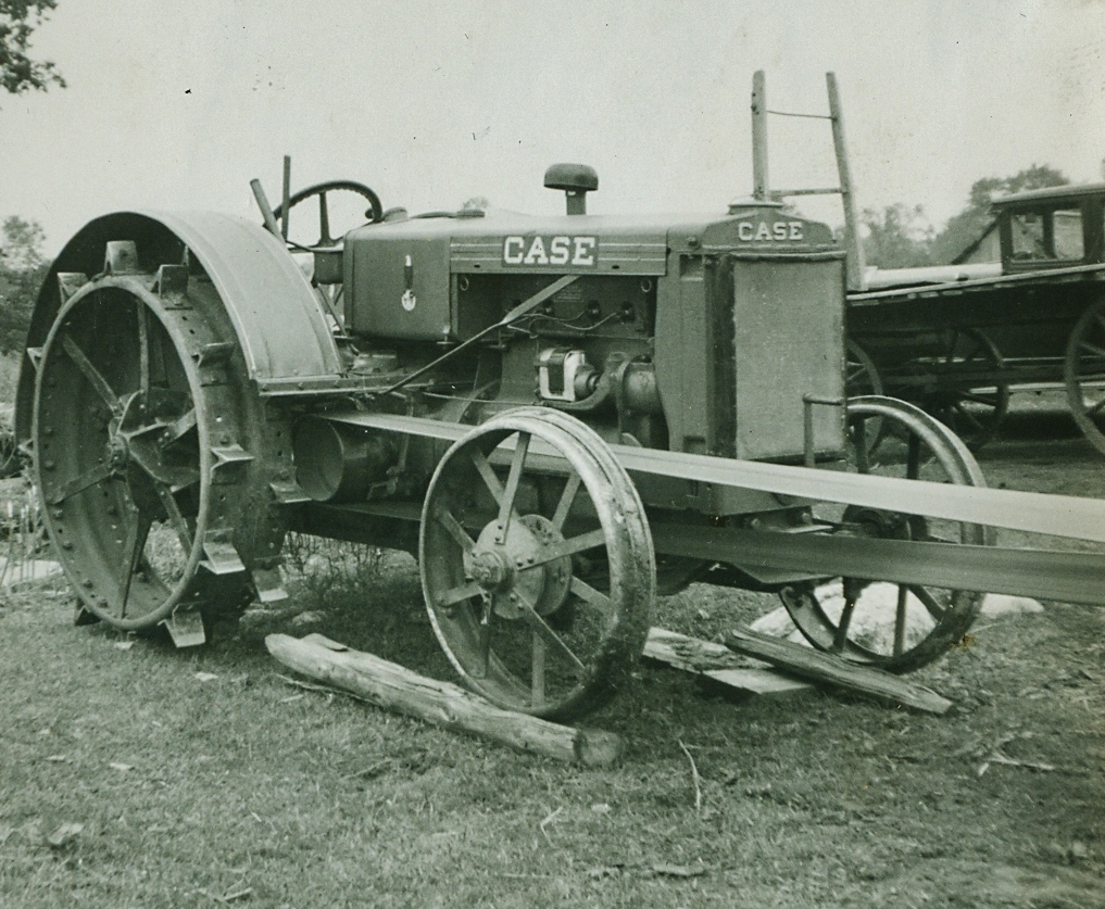 The Vansickles' tractor