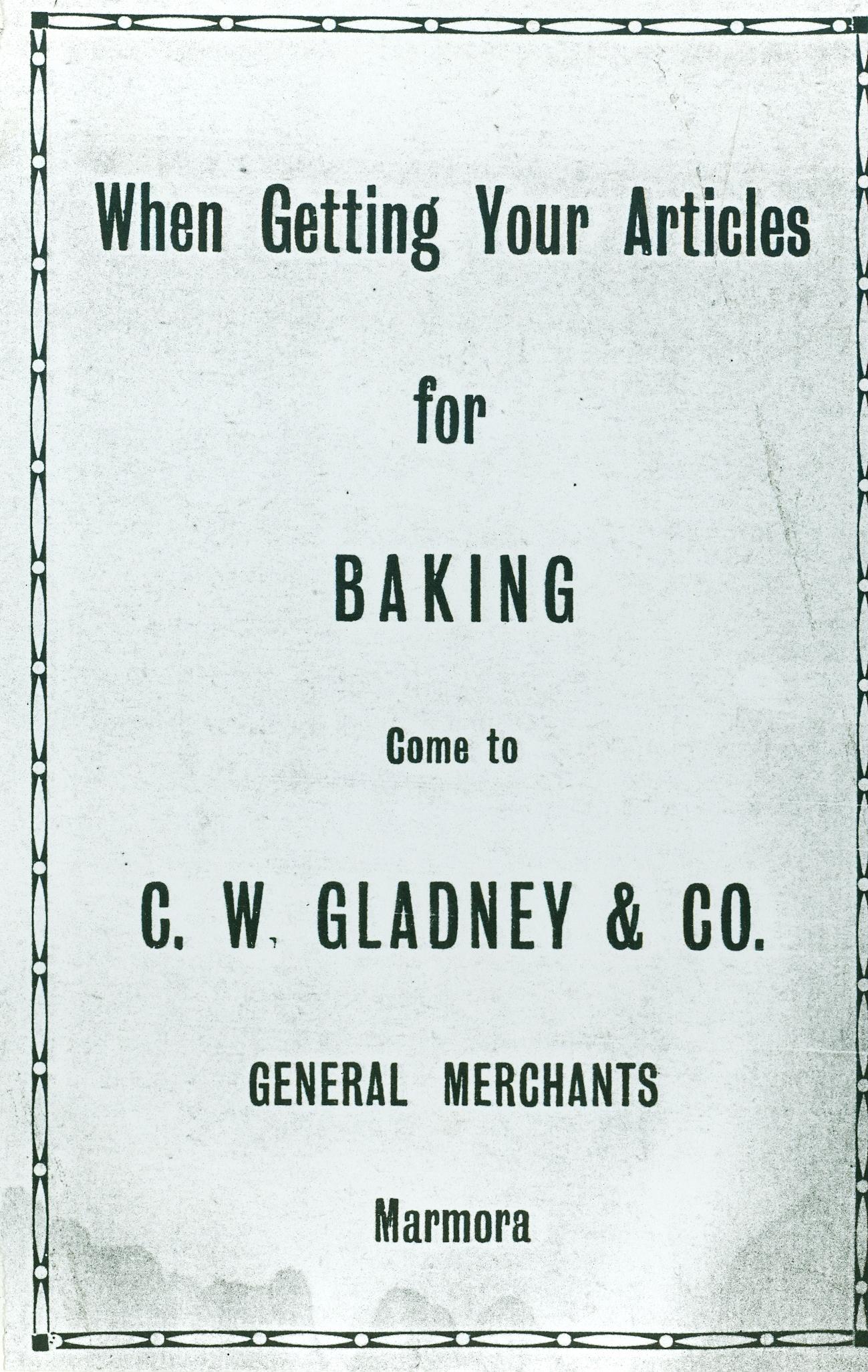C.W. Gladney & Co., General Merchants.jpg