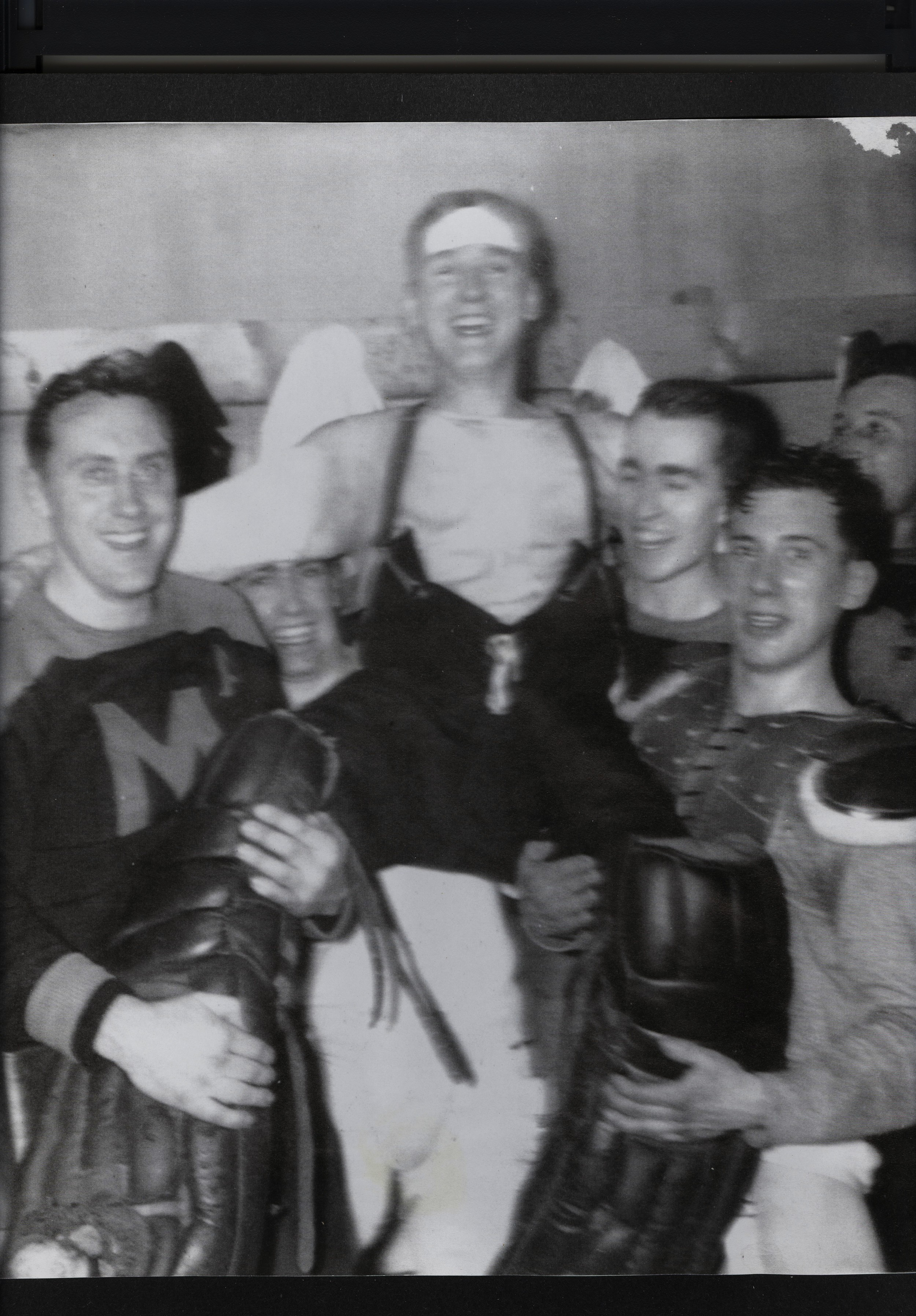 Fred Stewart, Ray Darrah. El Killian, unknown, Ken (Stub) Trumble, Bernard Doyle