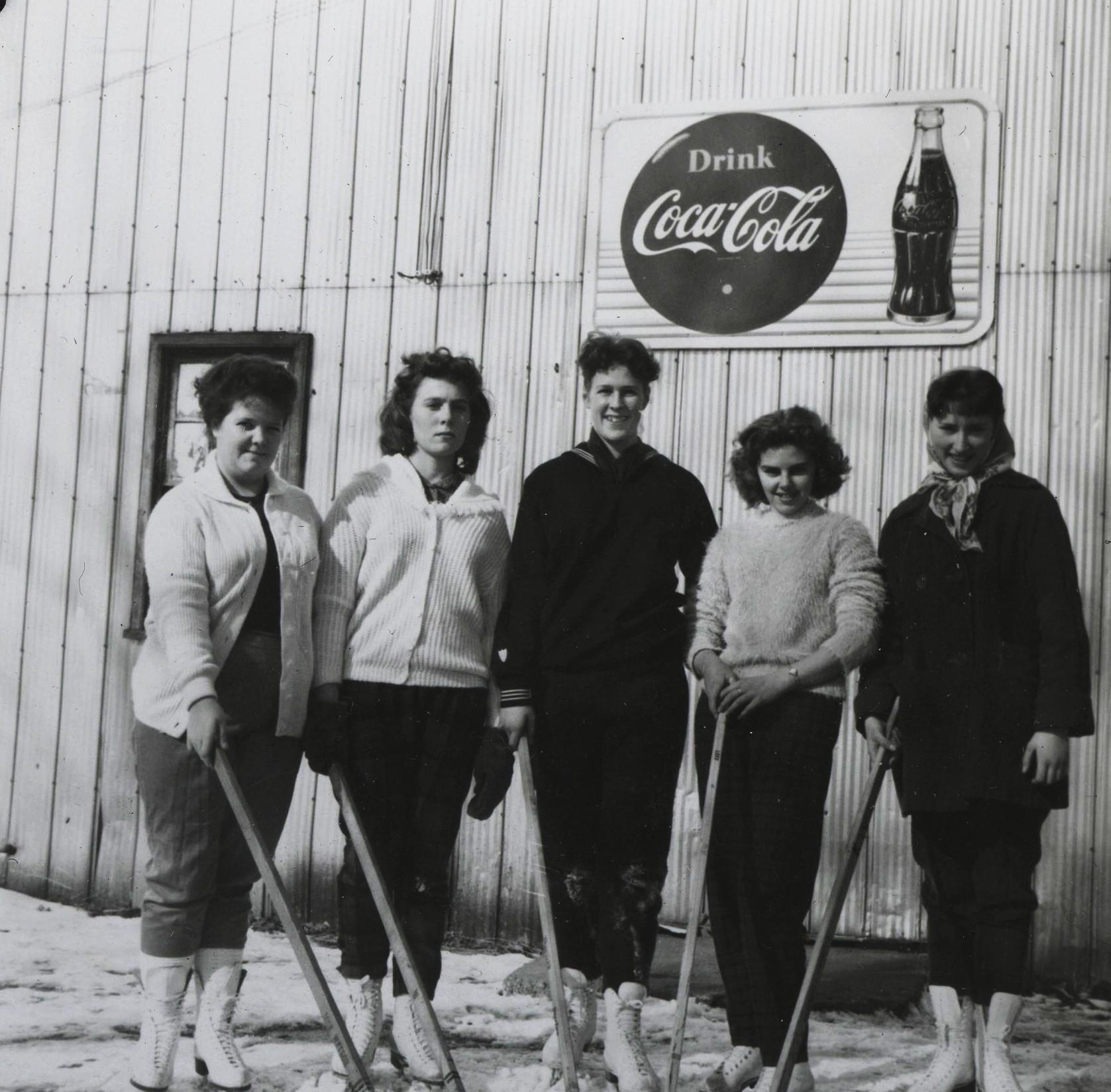 Mary Meehan, unkown,Marg Callery, Carolyn Peters, Doris Bedore