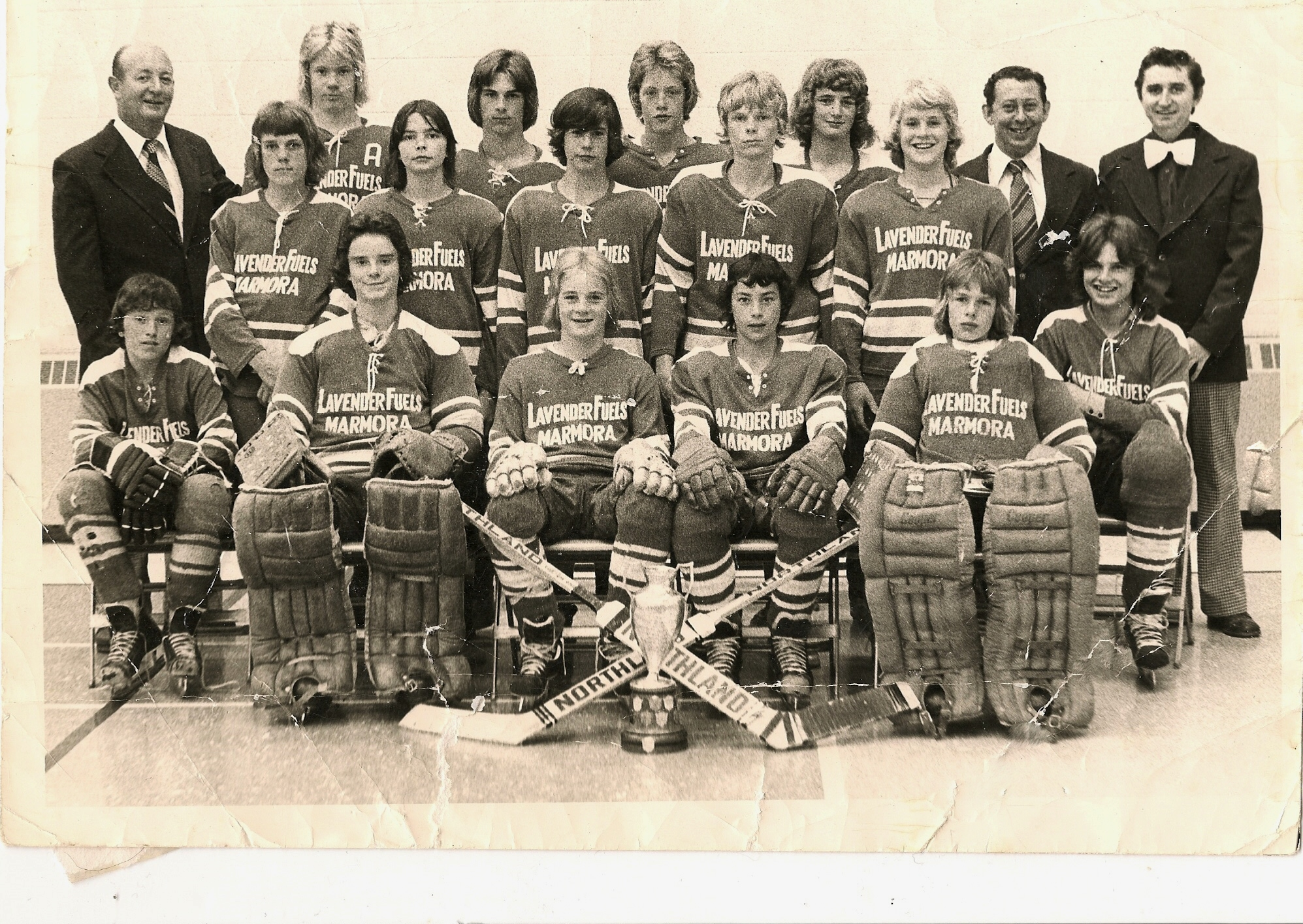 1975 Bantom All Ontario Finalists