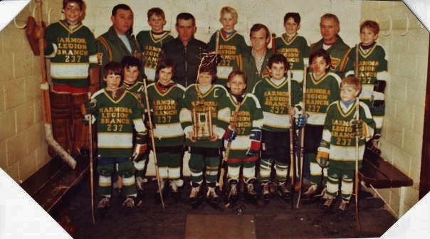 Novice Hockey Team 1981