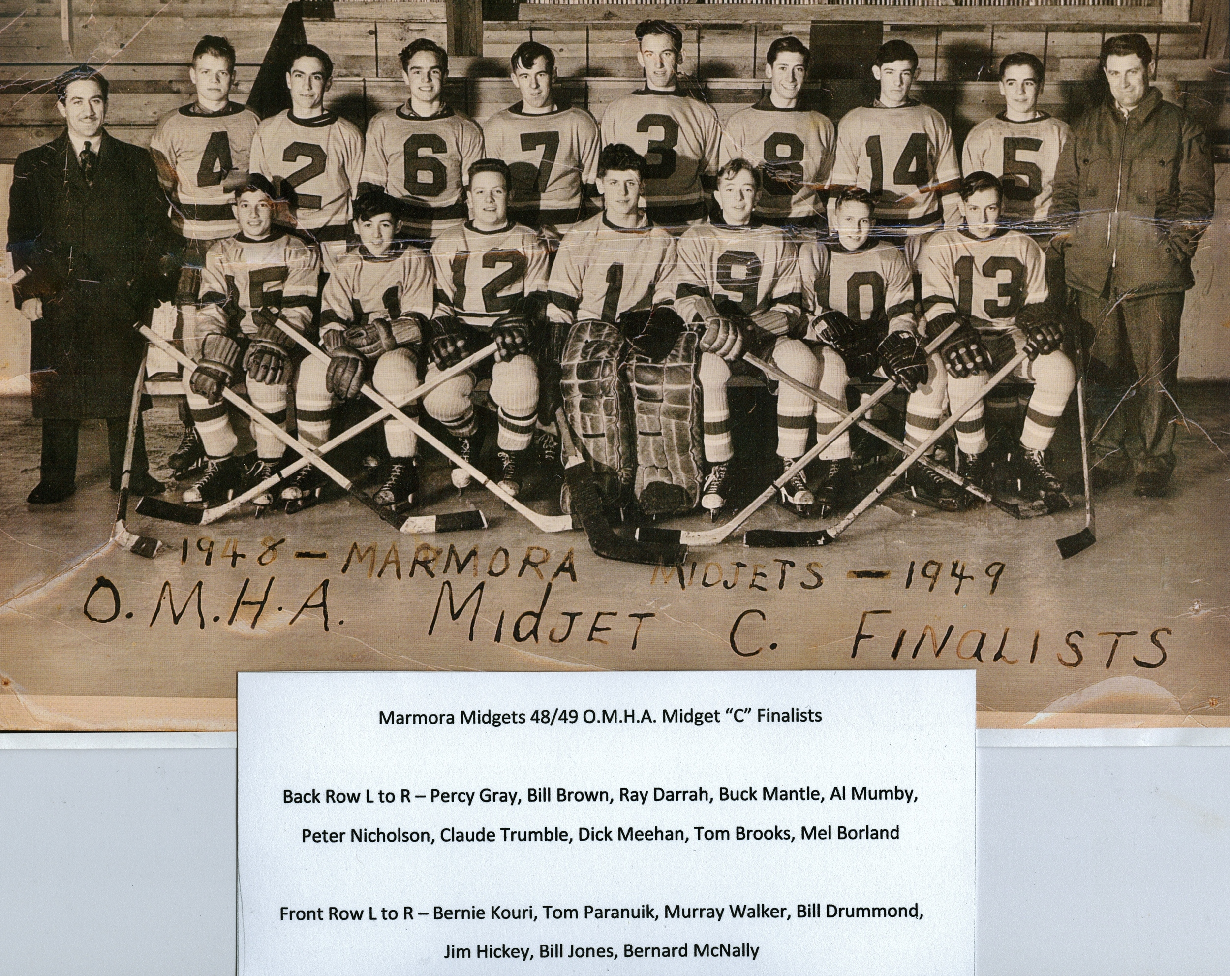 Midget C Finalists 1948-49