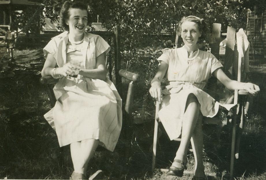 Alice Marett and Helen Jones
