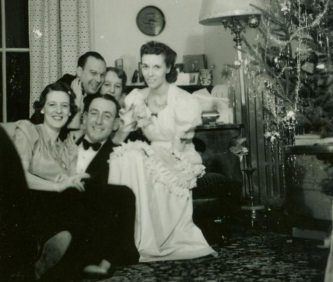 Joe Murray, Rita Murray, Helen Jones, Sally Jones