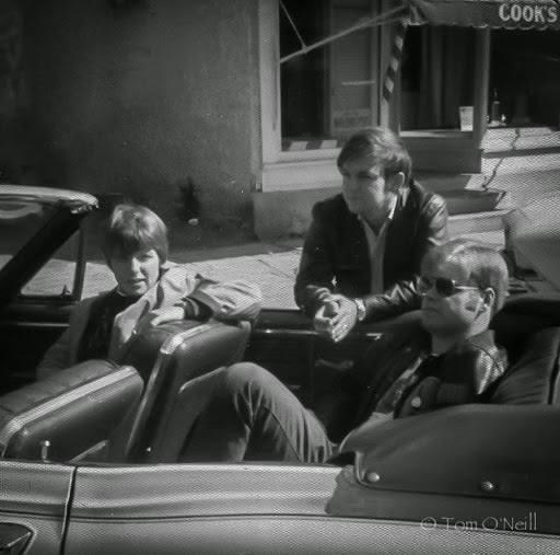 Cathie Jones, Tom O'Neill & Lou Wilson 1969