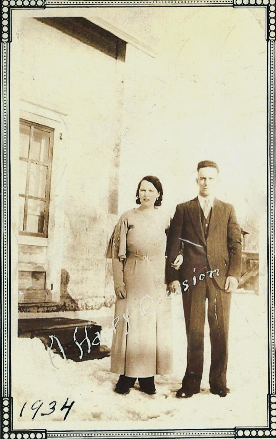 Vi & Henry Clemens  1934