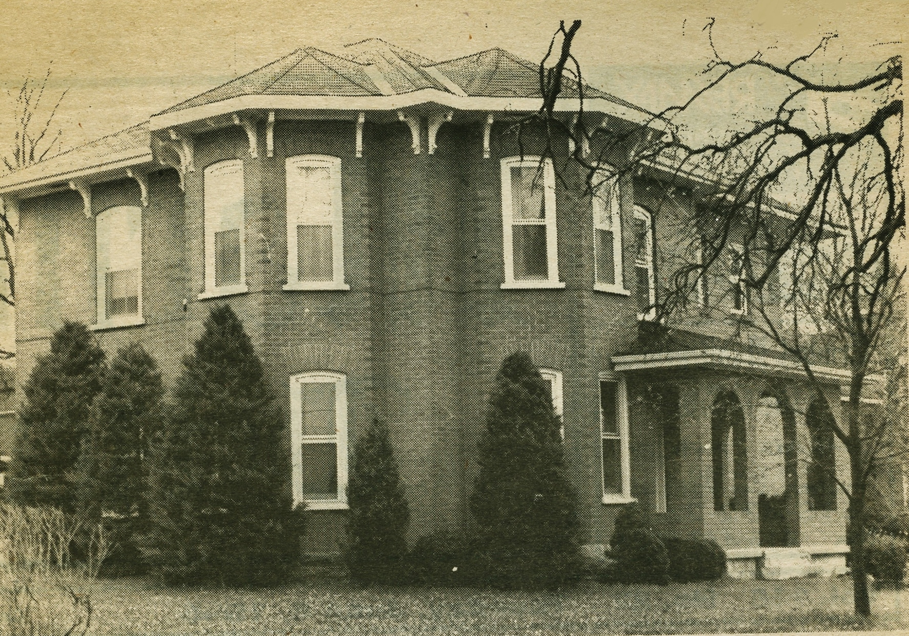 #10 Jones/ Horvath/ Wood House, Bursthall St. & Highway 7,