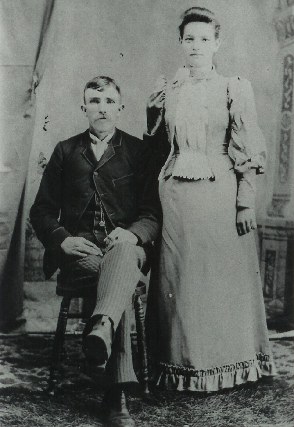 John VanVolkenburgh and Sarah Reid wedding day 1893