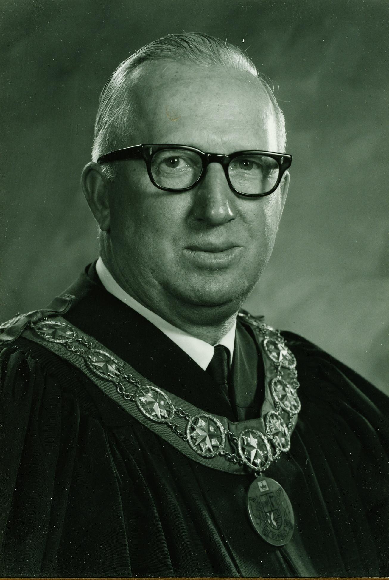 Warden John Wilkes 1970