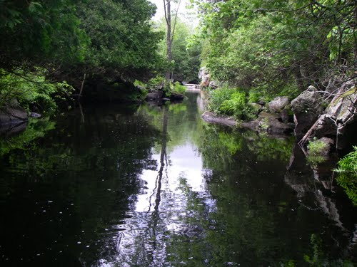 North River out of methuen lake