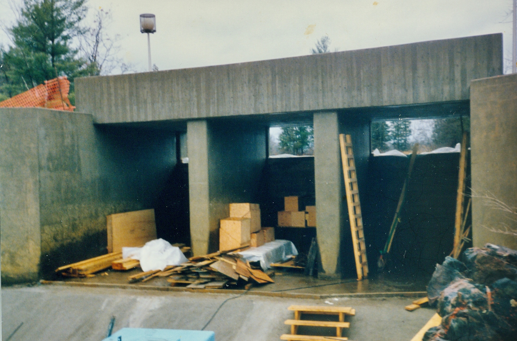 1991 repairs to Marmora Dam