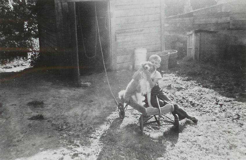 1953 Wayne Vanvolkenburg and Laddie