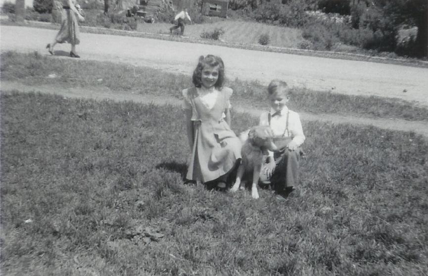 1953 Sandra & Wayne Vanvolkenburg & Laddie