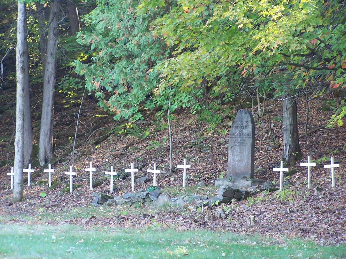 St. Matilda's pioneer cemetery lot 7, conc. 4