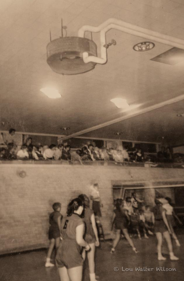 1950s In the gym