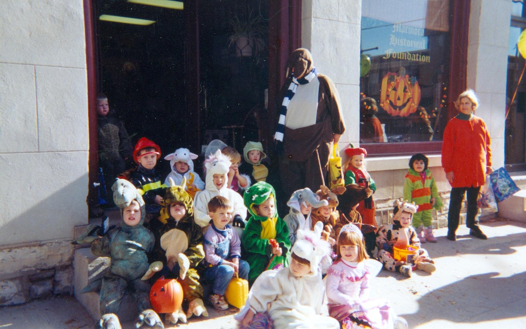 children's nursery centre halloween hike oct. 2005
