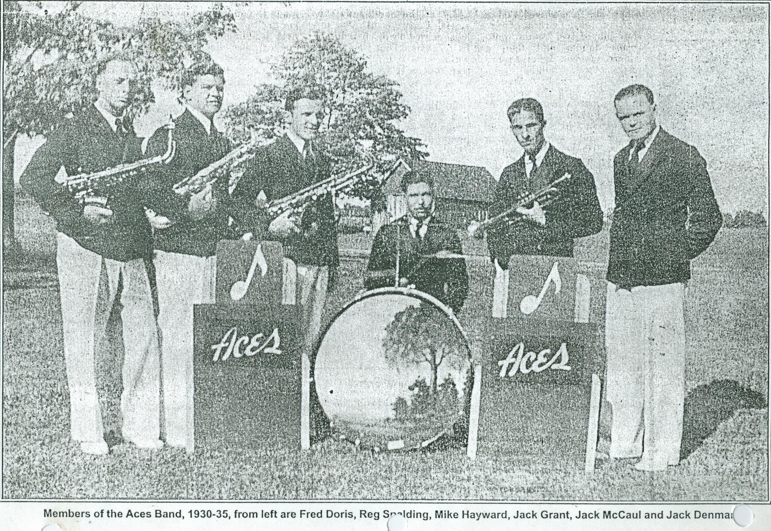 The Aces, 1930-1935, Fred Doris, Reg Spalding, Mike Hayward, Jack Grant, Jack McCaul, Jack Denmark.jpg