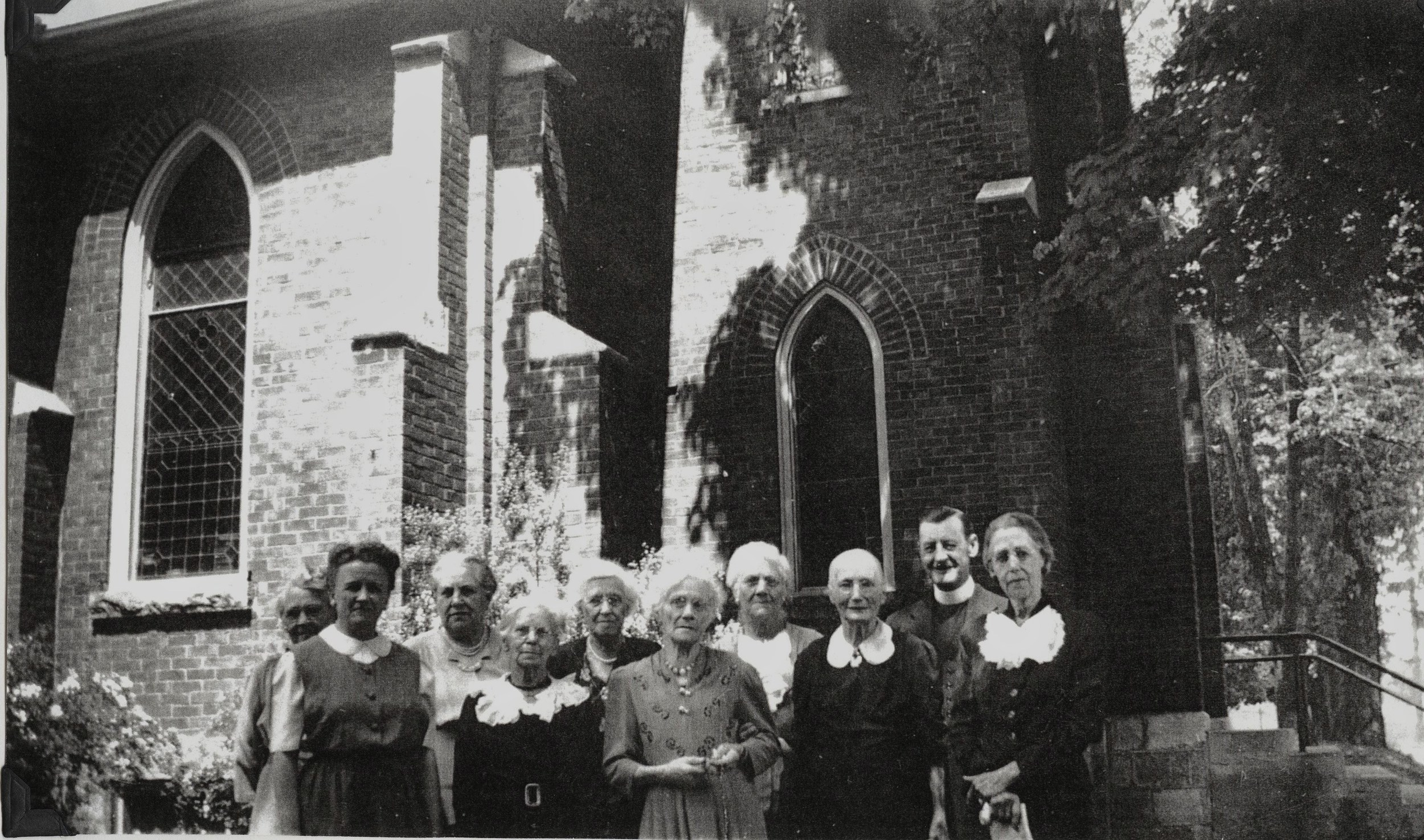 St. Andrew's Glee Club 1942, mother of Jack Grant in centre