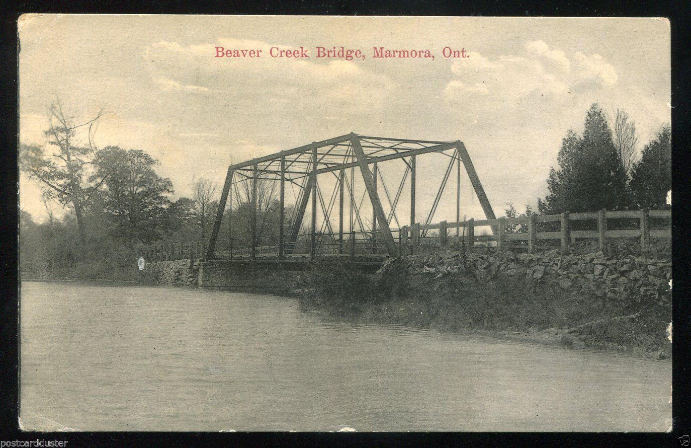 OLD BRIDGE ON RIVERVIEW CRES. DRIVE (NOW REMOVED)