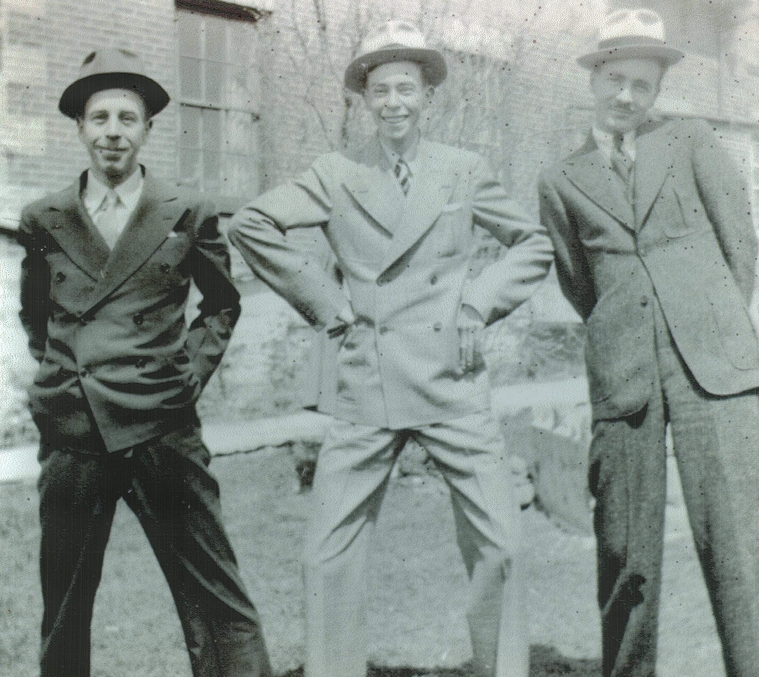 Marett, Don, Jim, Doug 1932